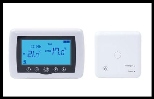 Termostat inteligent PNI CT35 fara fir cu WiFi controlat prin Internet