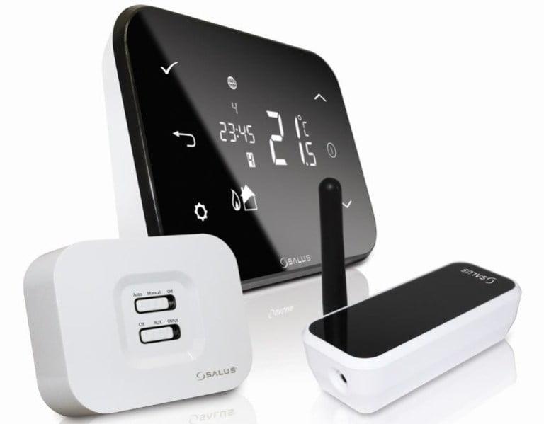 Termostat Salus iT500, controlat prin Internet
