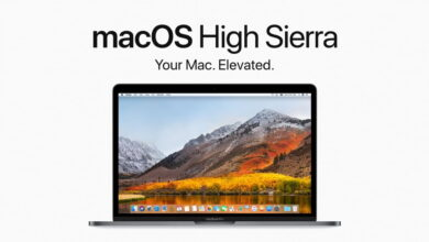 MacOS High Sierra Update
