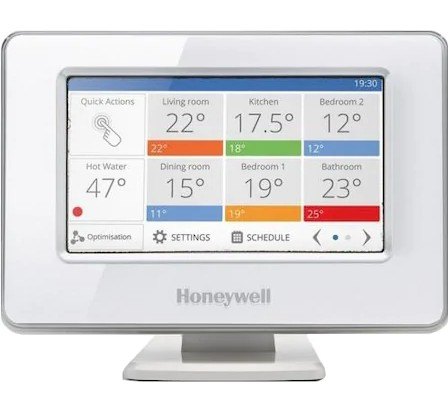 Termostat Smart Honeywell Evohome ATP921R, wireless, 12 zone