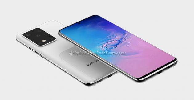 Samsung-GALAXY-S20 testare