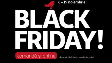 reducerile black friday 13 noiembrie 2020