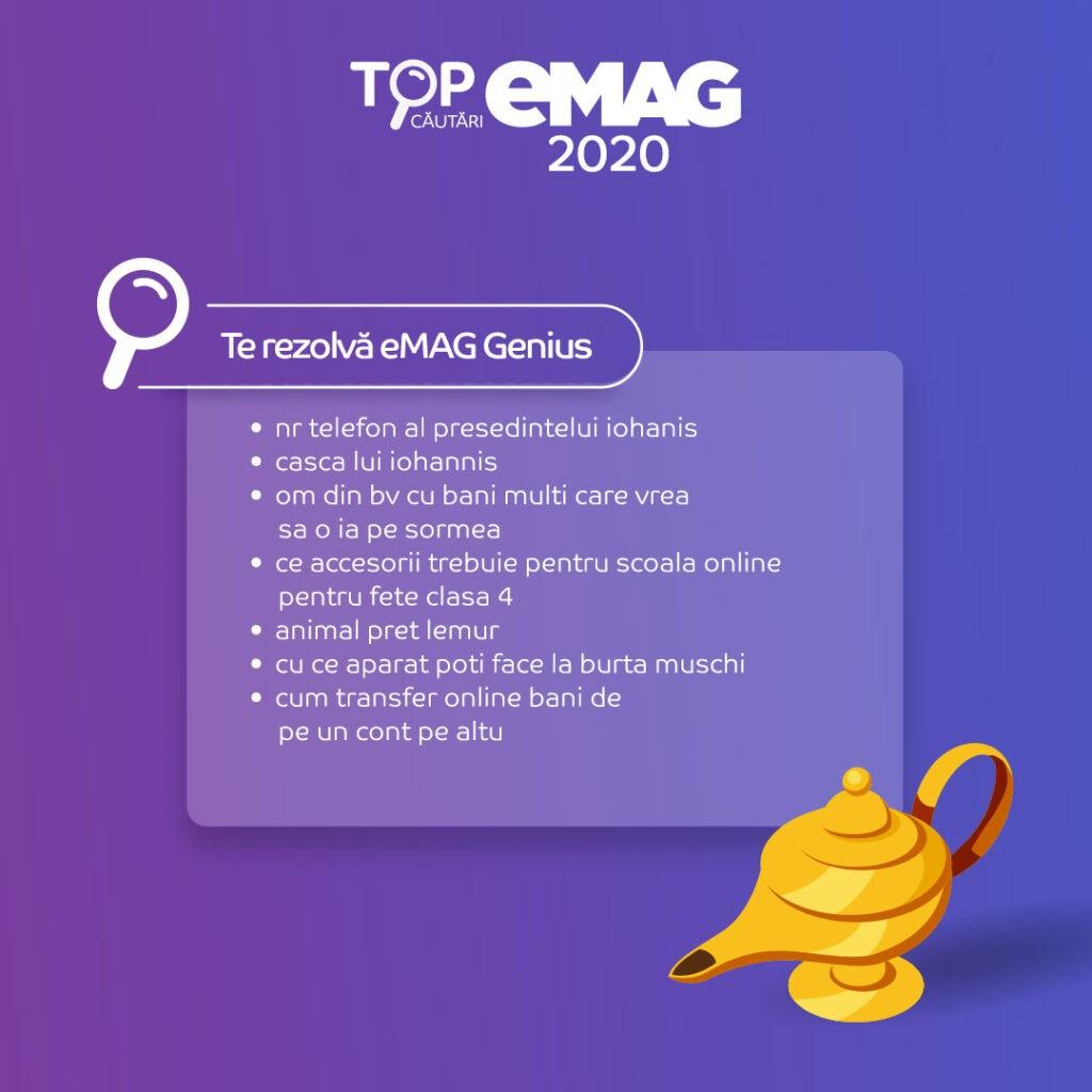 Cautari pe eMAG in 2020
