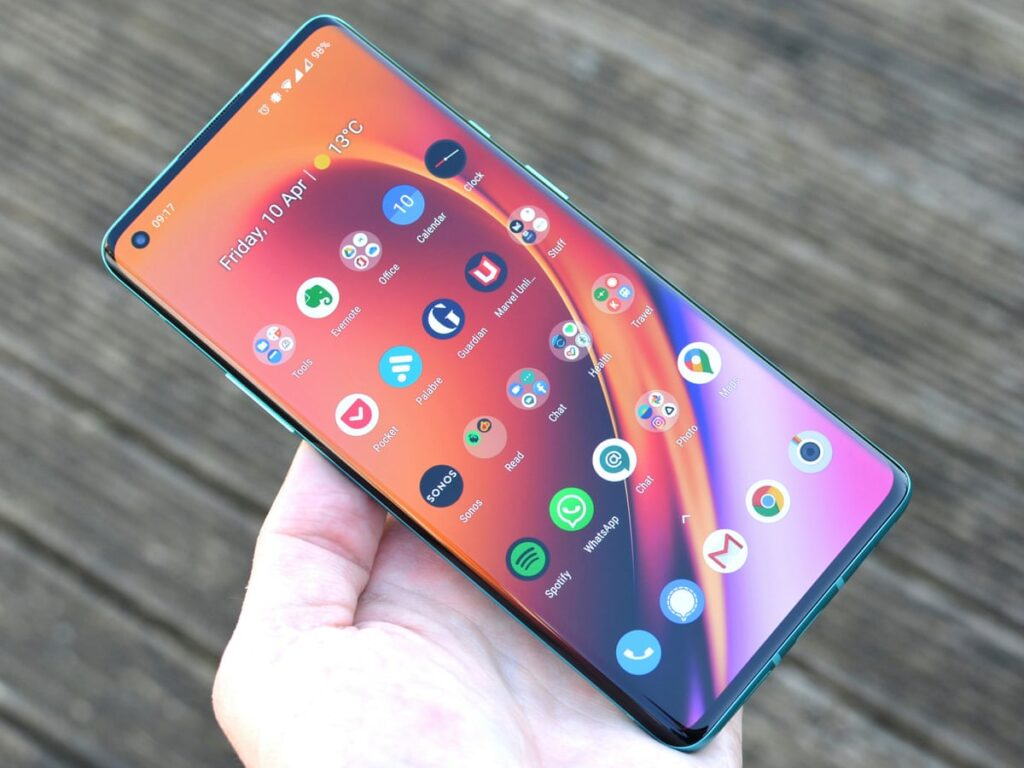 smartphone oneplus 8 5G 2020