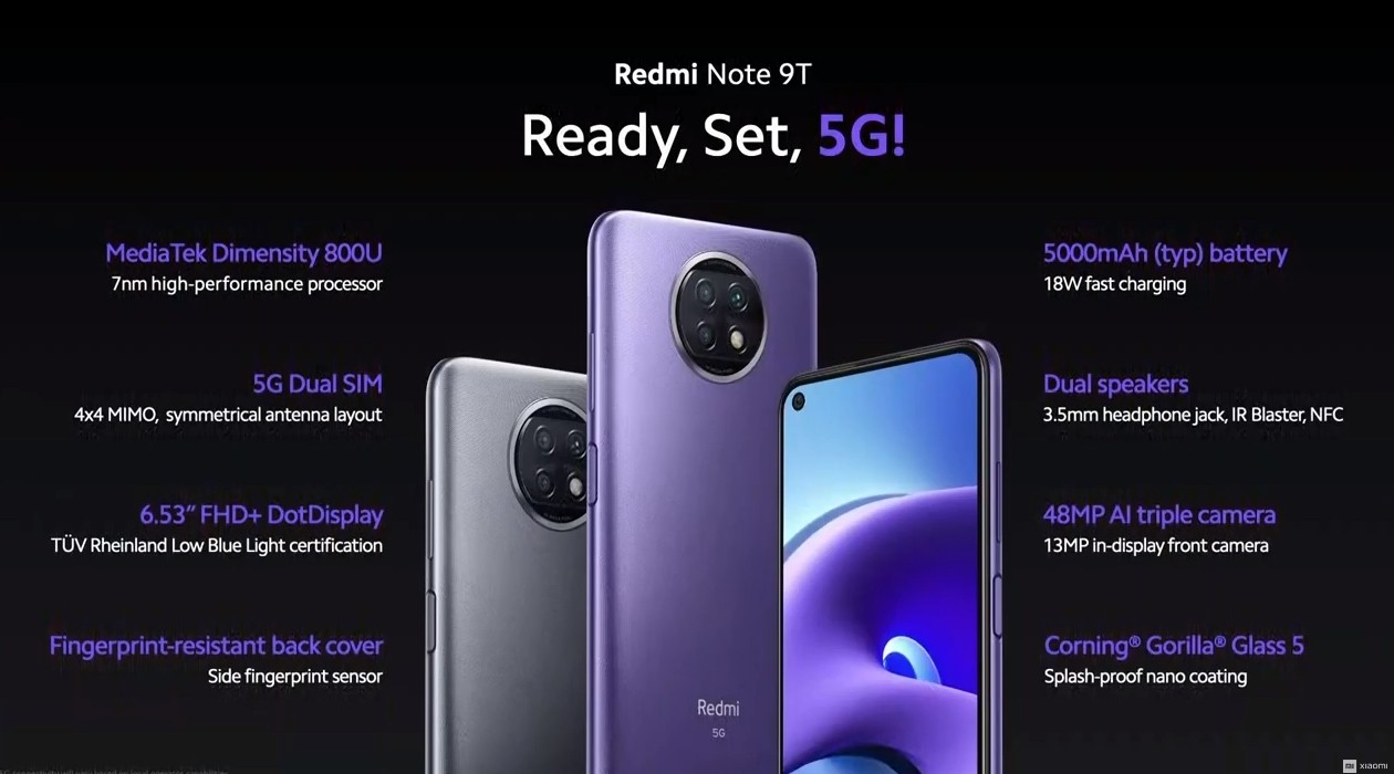 Review Redmi Note 9T