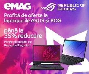 Oferte eMAG laptop Revolutia preturilor
