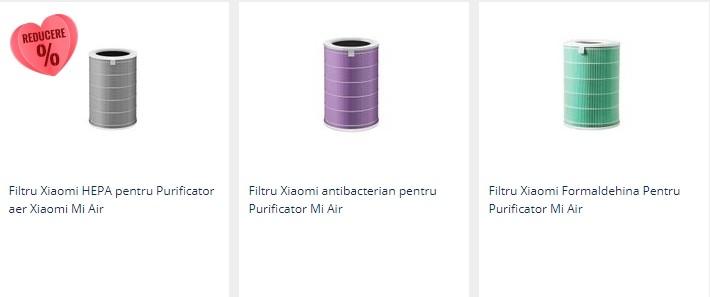 filtru purificator de aer xiaomi mi
