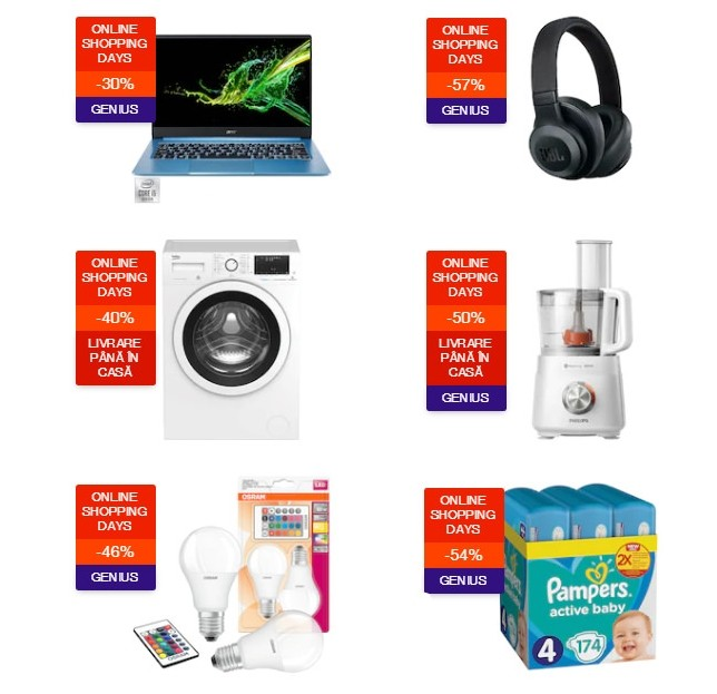 oferte emag online shopping days